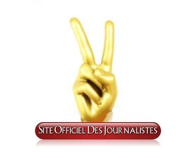v de victoire logo du  site officiel des journalistes